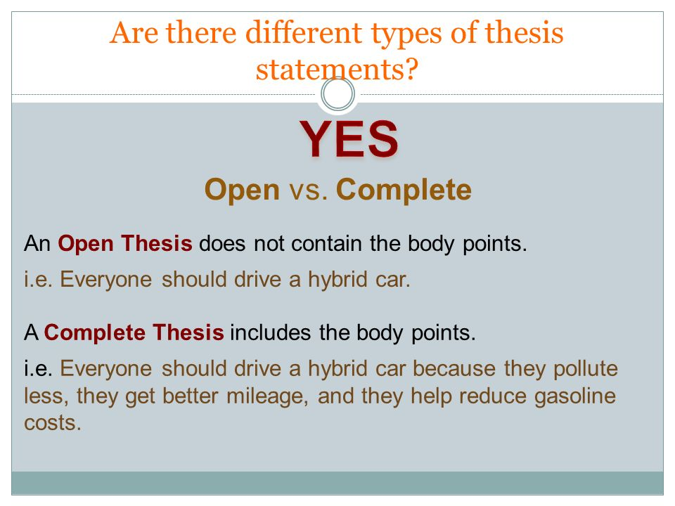 How to Write a Thesis for a Research Paper?