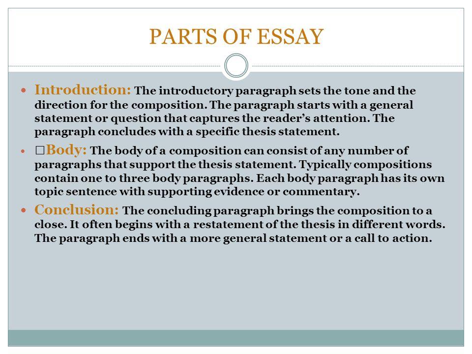 Essay Introductions | UMUC