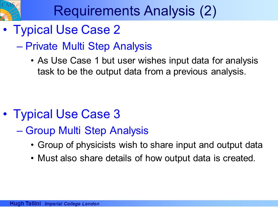 Requirements Analysis (2)