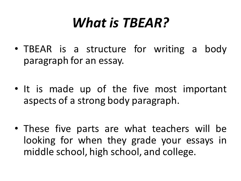 writing an essay body paragraph This handout on transitions will introduce you to some useful transitional expressions and help you employ them effectively.