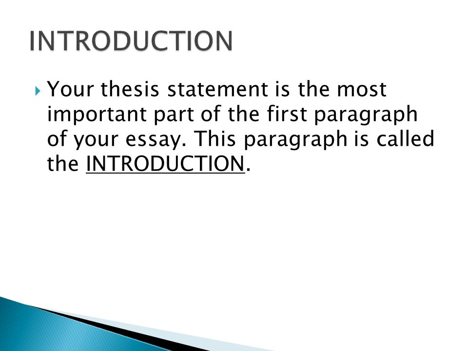 essential parts of thesis writing Essay layout is an essential part of your paper work all research papers should have prior designed essay layouts writing an essay should start with the creation of a proper essay layout.