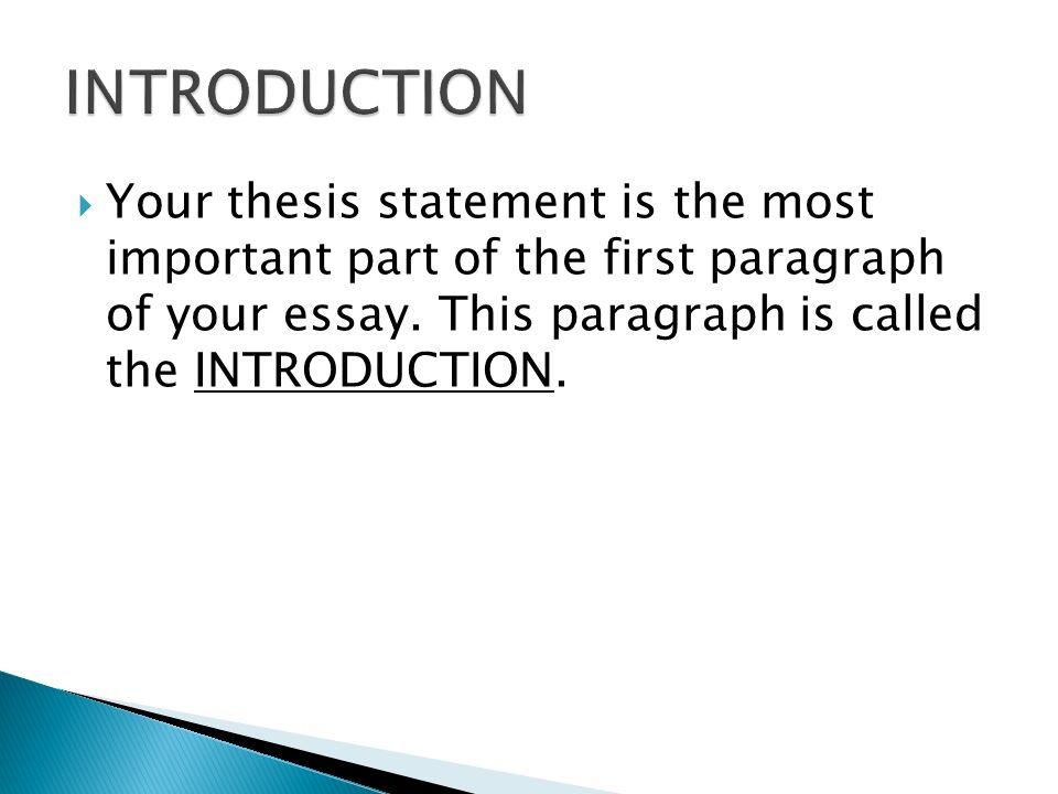 introduction paragraph for argument essay
