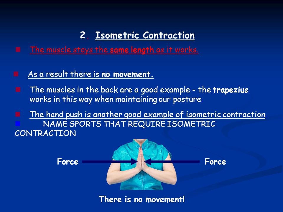 Isometric Contraction Sporting Example GCSE Physical E...