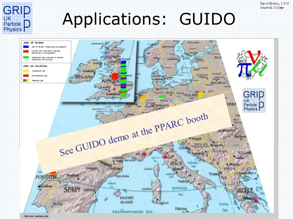 See GUIDO demo at the PPARC booth
