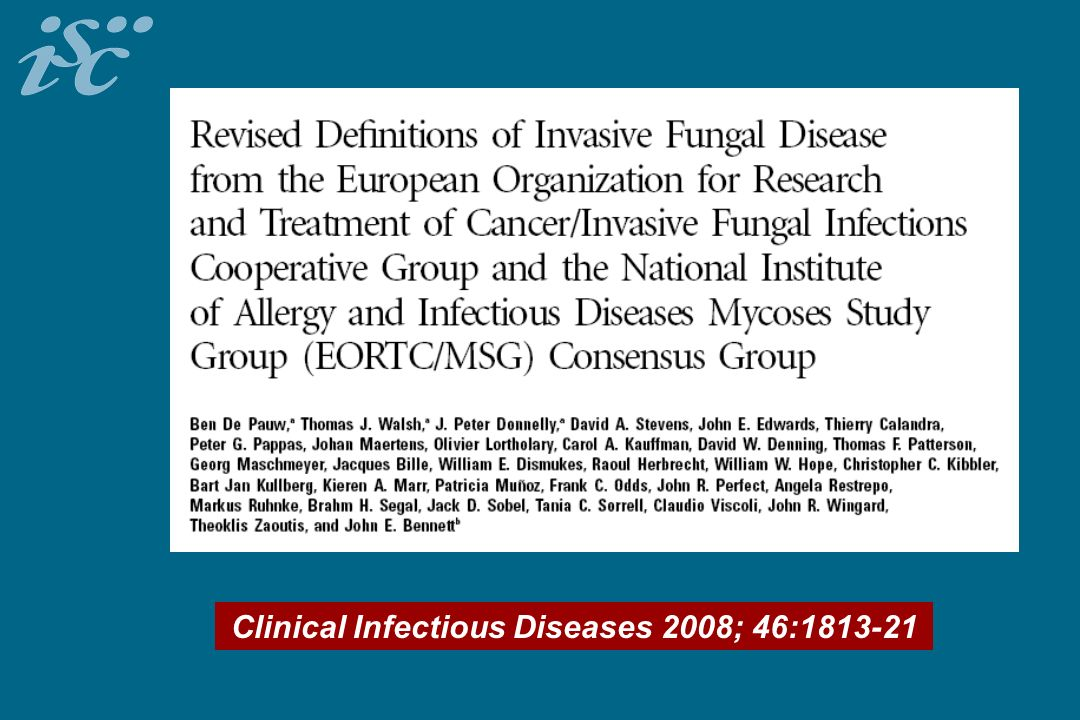 Clinical Infectious Diseases 2008; 46: