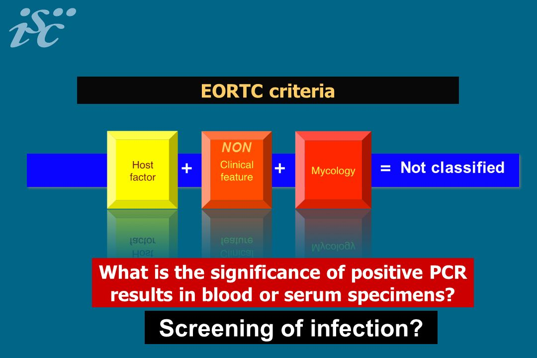 Screening of infection