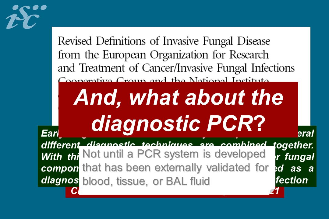 And, what about the diagnostic PCR