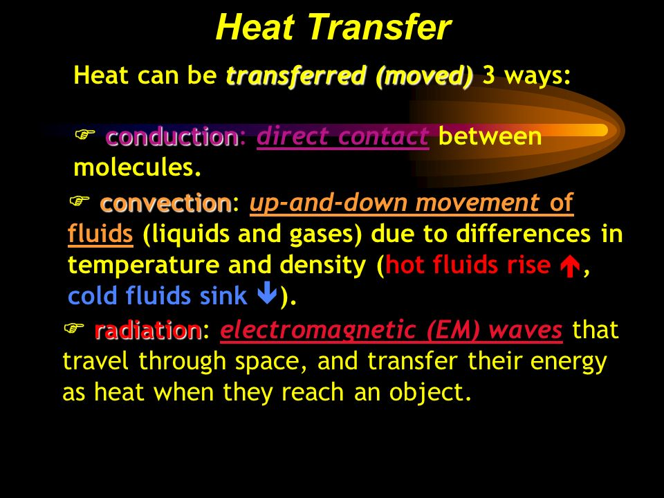 Heat transfer heat is another word for thermal energy for Another word for air