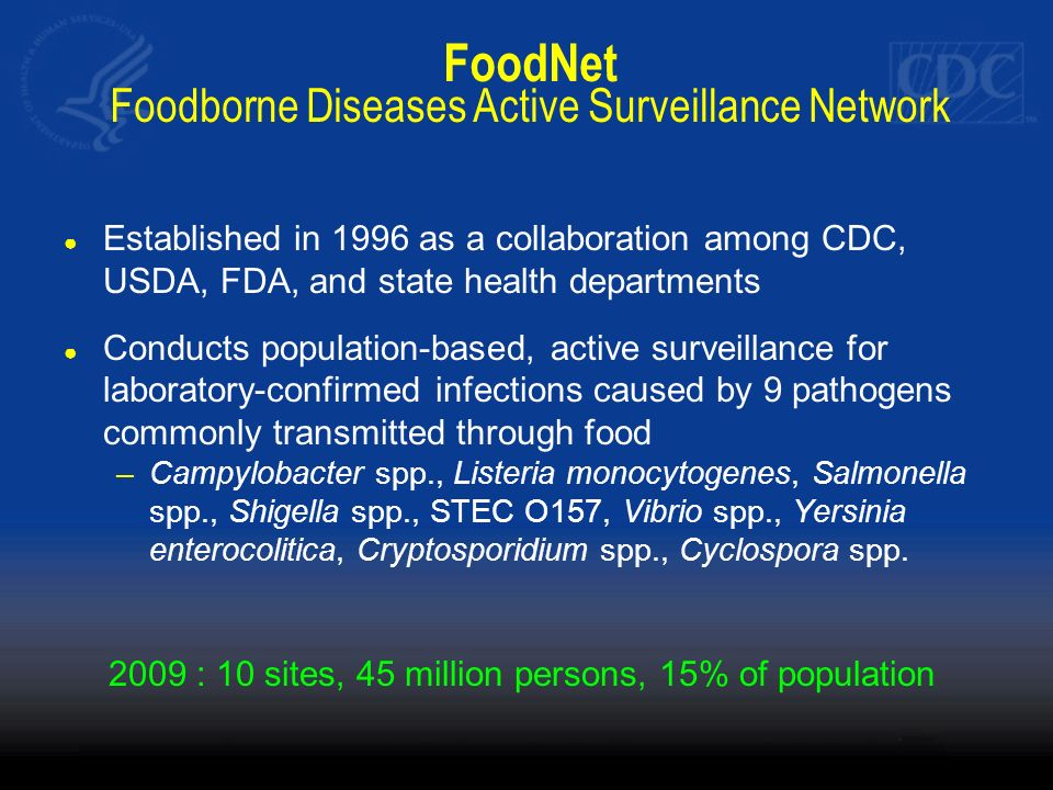 FoodNet Foodborne Diseases Active Surveillance Network