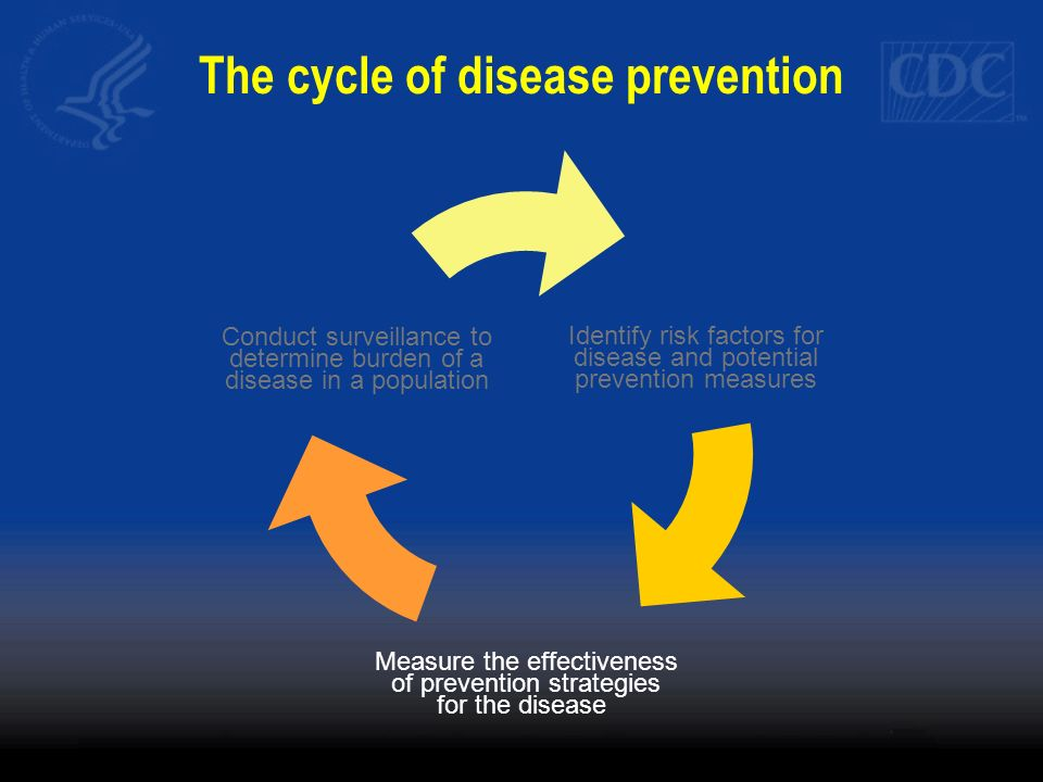 The cycle of disease prevention