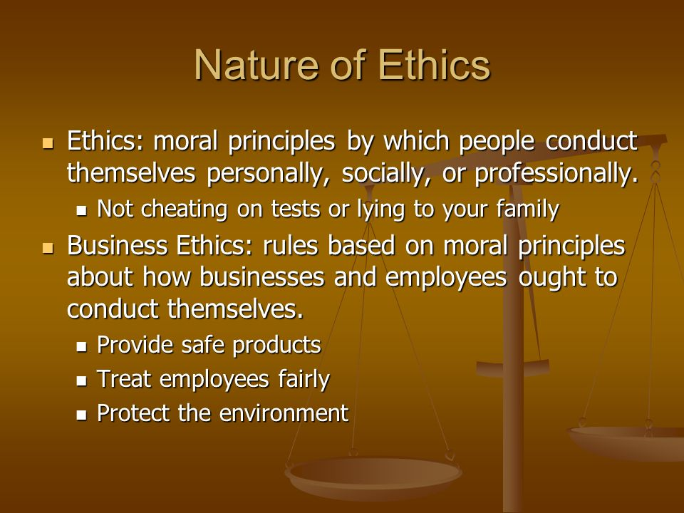 ethics and natural method Natural law theory in order to examine the extent of aristotle's influence on the natural law theory nicomanchean ethics,8 and in a way that is.