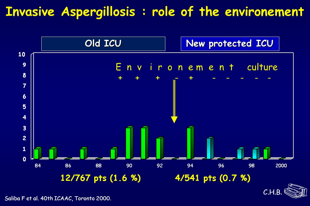 Invasive Aspergillosis : role of the environement