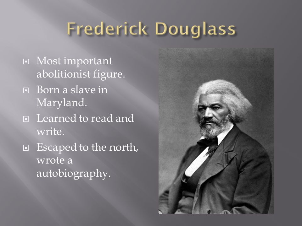 "the evils of slavery in the narrative of the life of frederick douglass The narrative of the life of frederick douglass, an american slave is a one of the key arguments in ""the narrative of the life of the evils of slavery and."