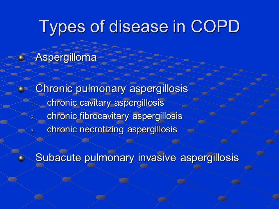 Types of disease in COPD