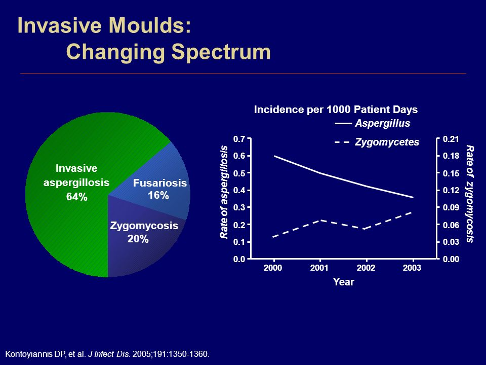 Invasive Moulds: Changing Spectrum
