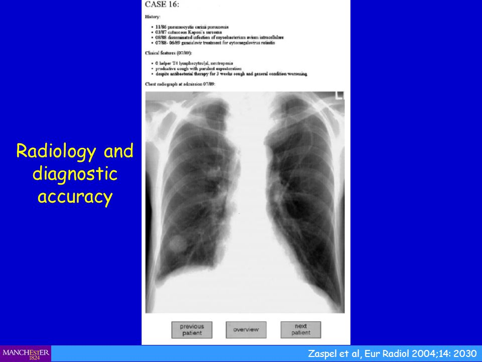 Radiology and diagnostic accuracy