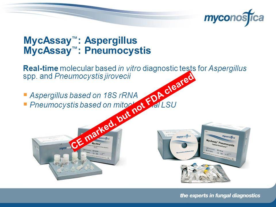 MycAssay™: Aspergillus MycAssay™: Pneumocystis