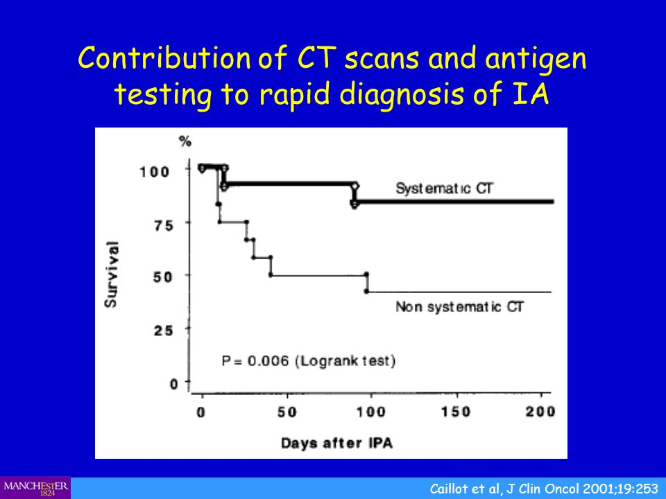 Contribution of CT scans and antigen testing to rapid diagnosis of IA
