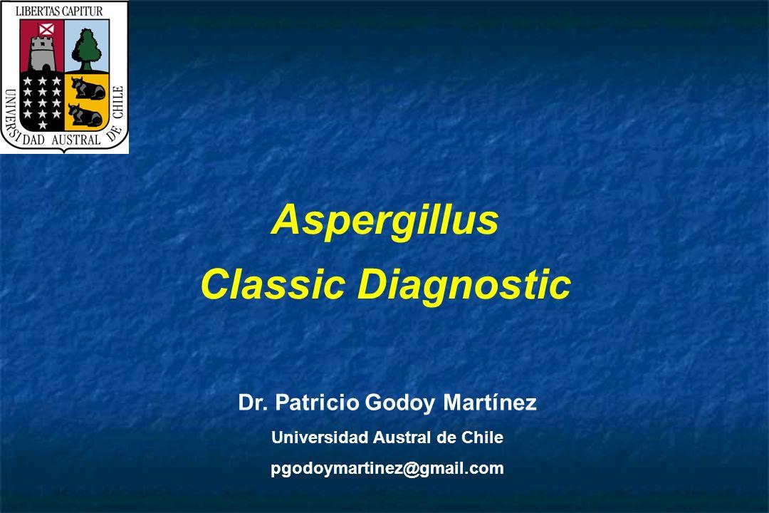Dr. Patricio Godoy Martínez Universidad Austral de Chile