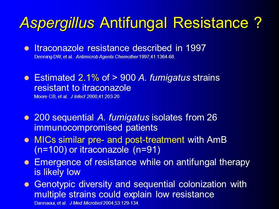 Aspergillus Antifungal Resistance