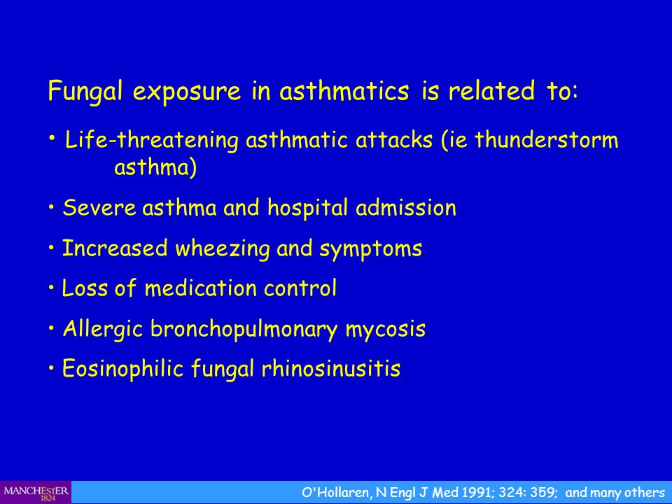 Fungal exposure in asthmatics is related to: