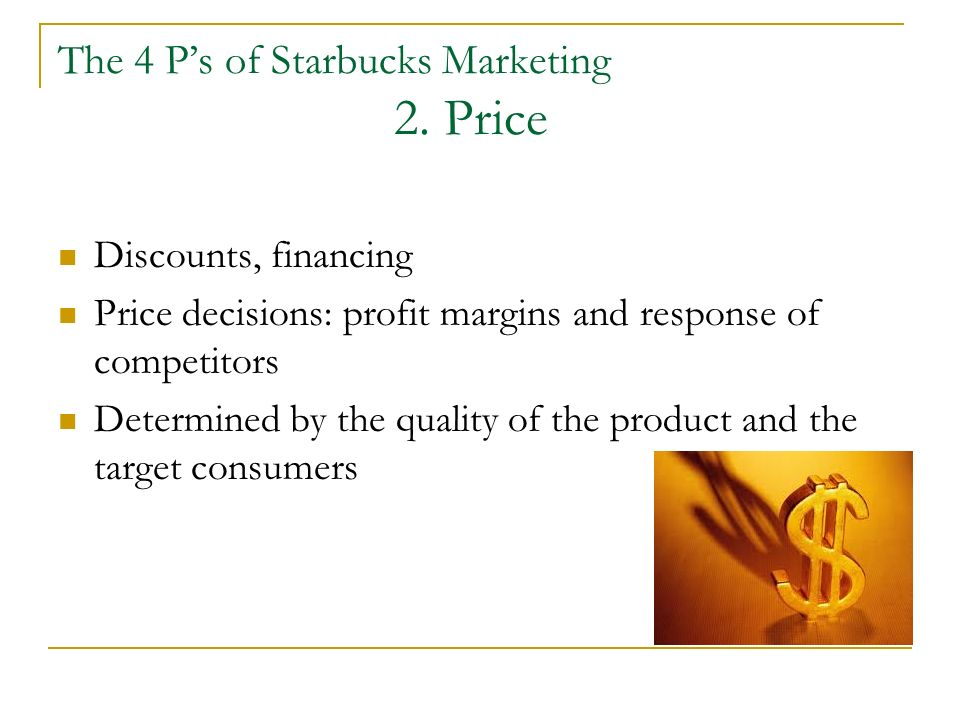 starbucks 4p s marketing Marketing mix of starbucks coffee starbucks is the largest and most successful coffee house chain in the world it has more than 22500 of its stores running worldwide  h&m marketing mix – 4p's airlines industry pestel let america be america again by hughes summary and analysis character of catherine earnshaw in wuthering heights.