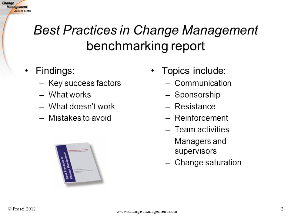 change management report The current definition of change management includes both organizational change management processes and individual change management models, which together are used to manage the people side of change.