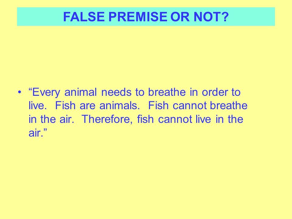 False premise ppt download for Order live fish