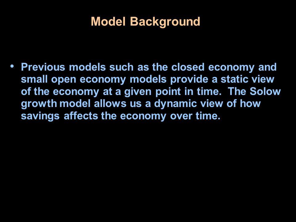 Model Background