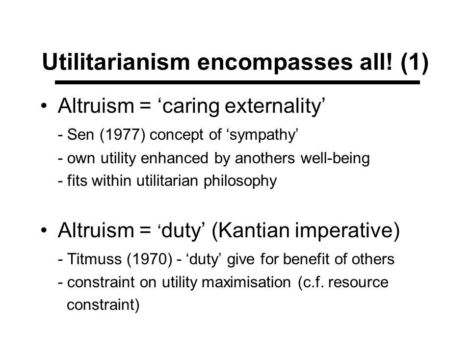 Utilitarianism encompasses all! (1)