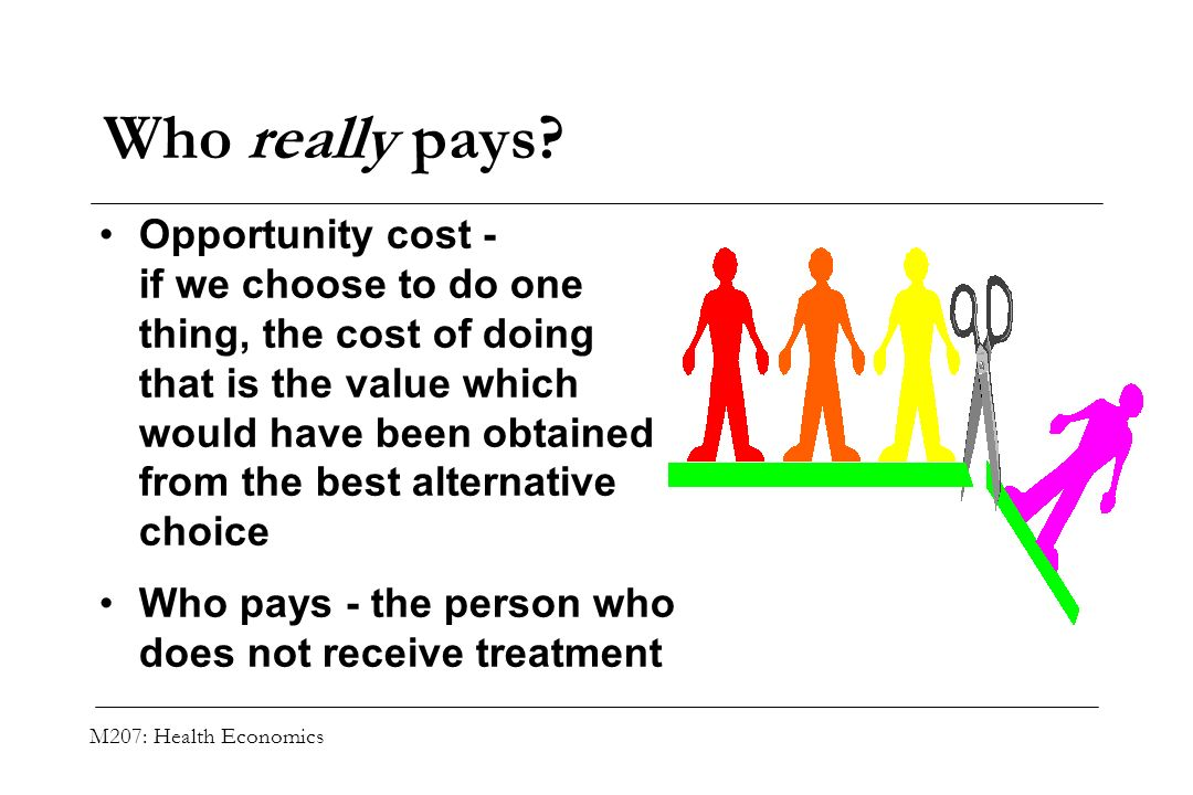 Who really pays