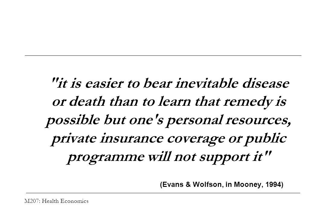 (Evans & Wolfson, in Mooney, 1994)