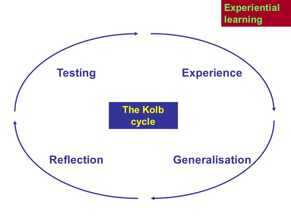 Testing Experience Reflection Generalisation