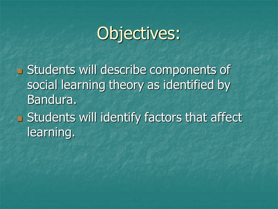 factors that affect students learning Factors affecting the learning of  seven factors were shown to have significant correlations with the students' learning of english  24 factors affecting .