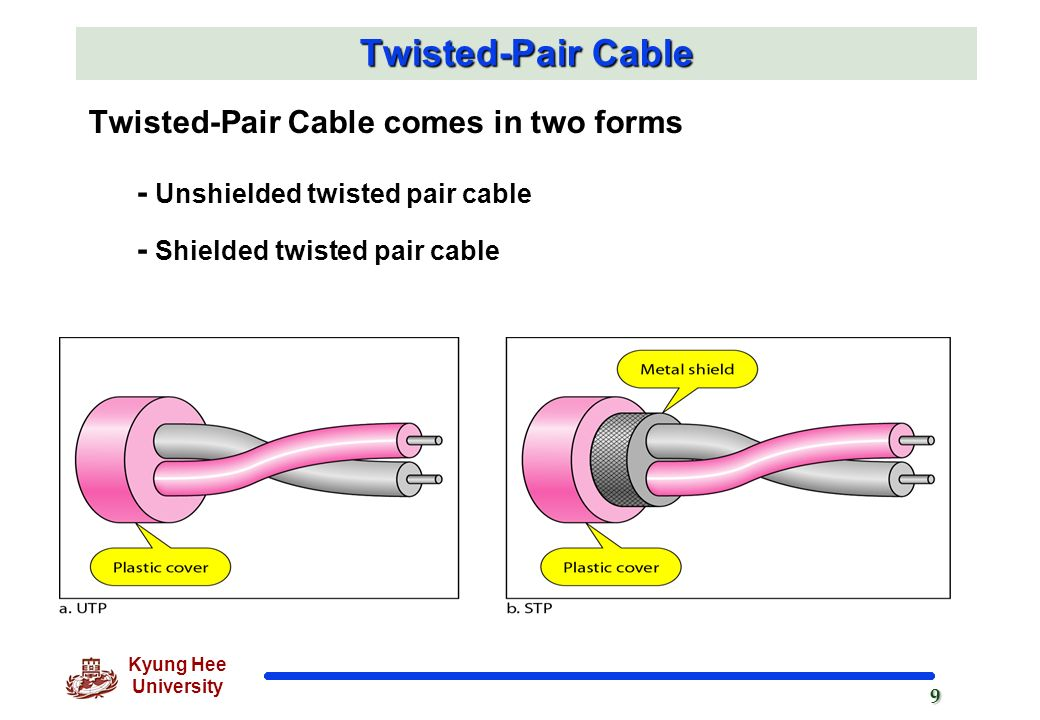 twisted-pair cable essay The most common local area network is an ethernet, a twisted-pair cable similar to an ordinary phone cable, lan also, the smallest lans can consist of two computers whereas, a large lan can accommodate many thousands of computers.