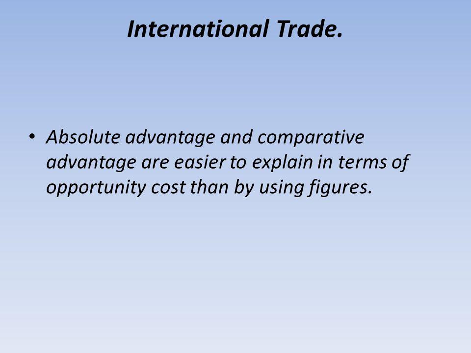 International Trade.