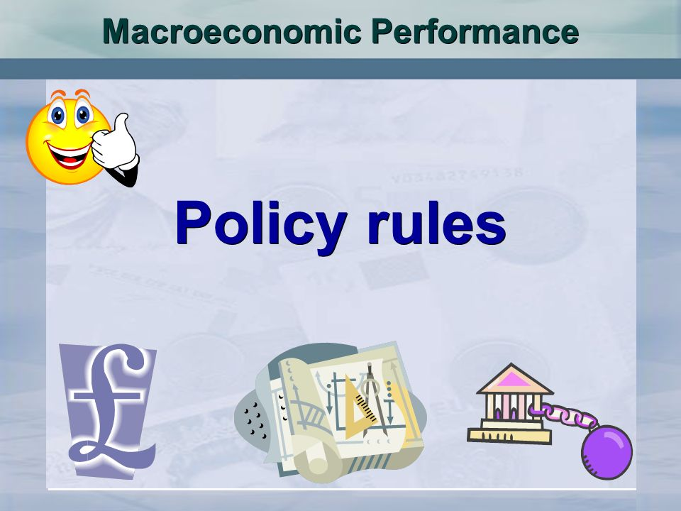 Macroeconomic Performance