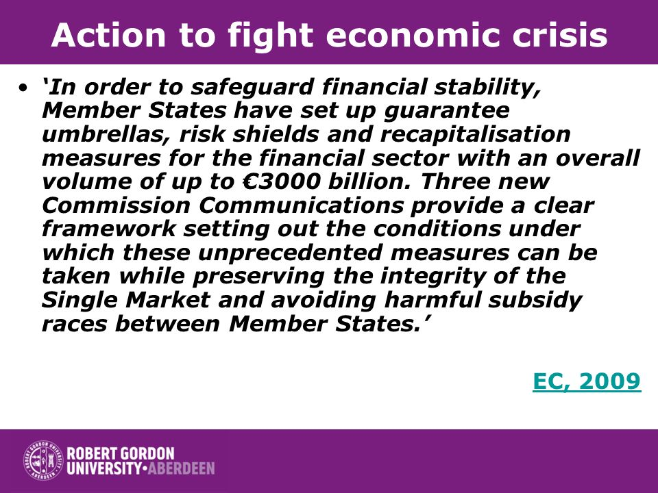 Action to fight economic crisis