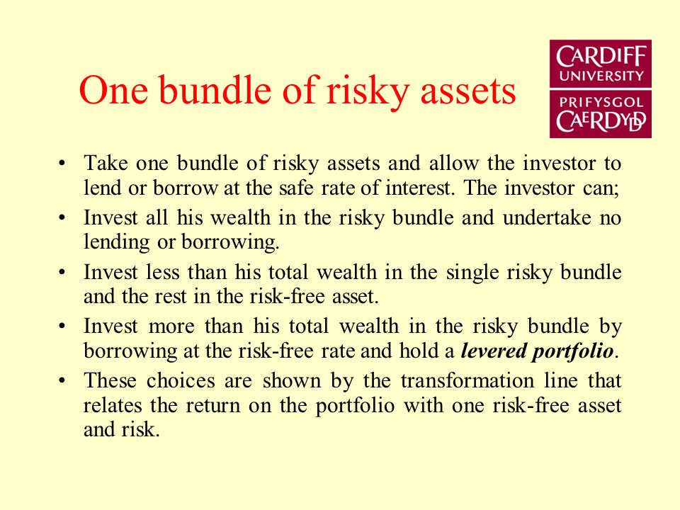 One bundle of risky assets