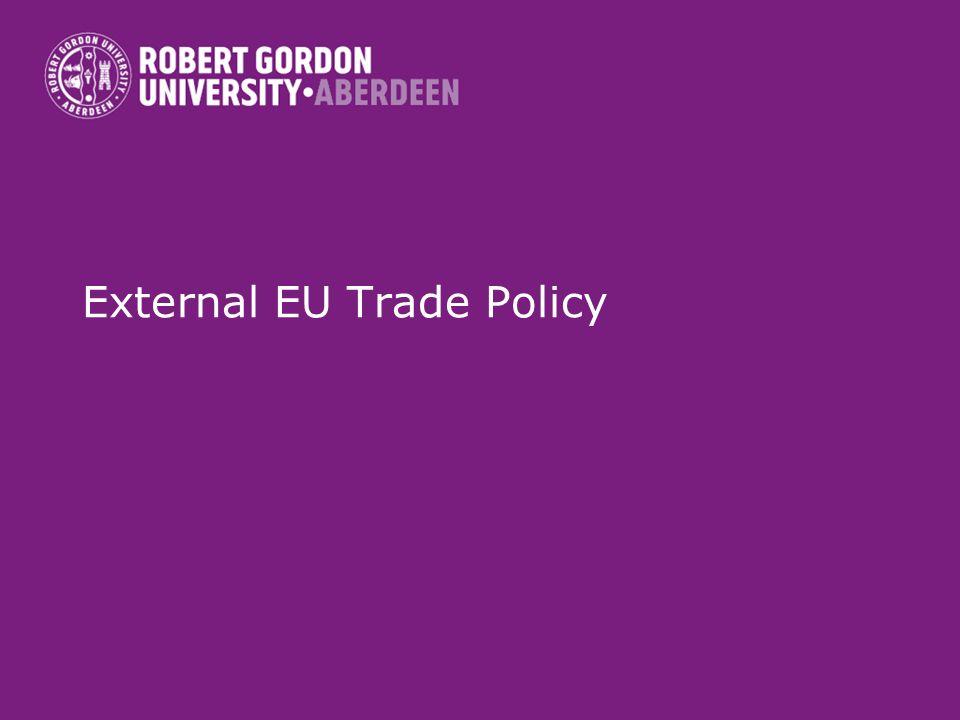 External EU Trade Policy