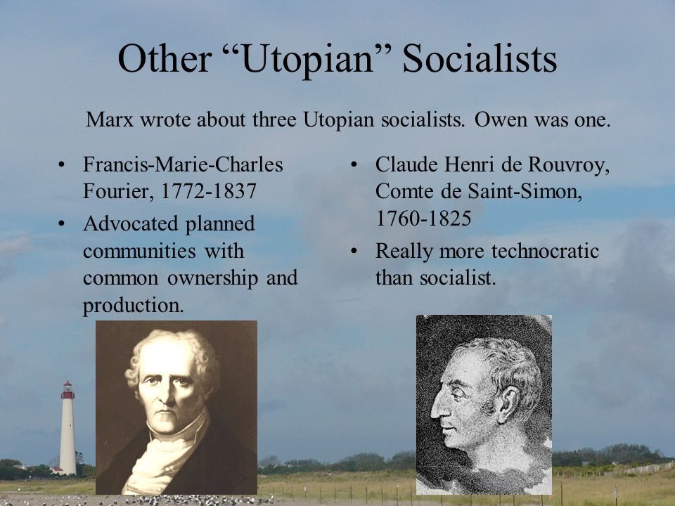Other Utopian Socialists