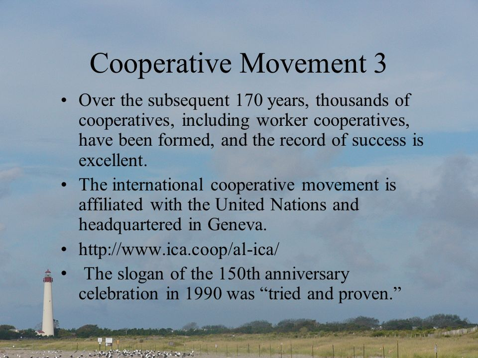 Cooperative Movement 3