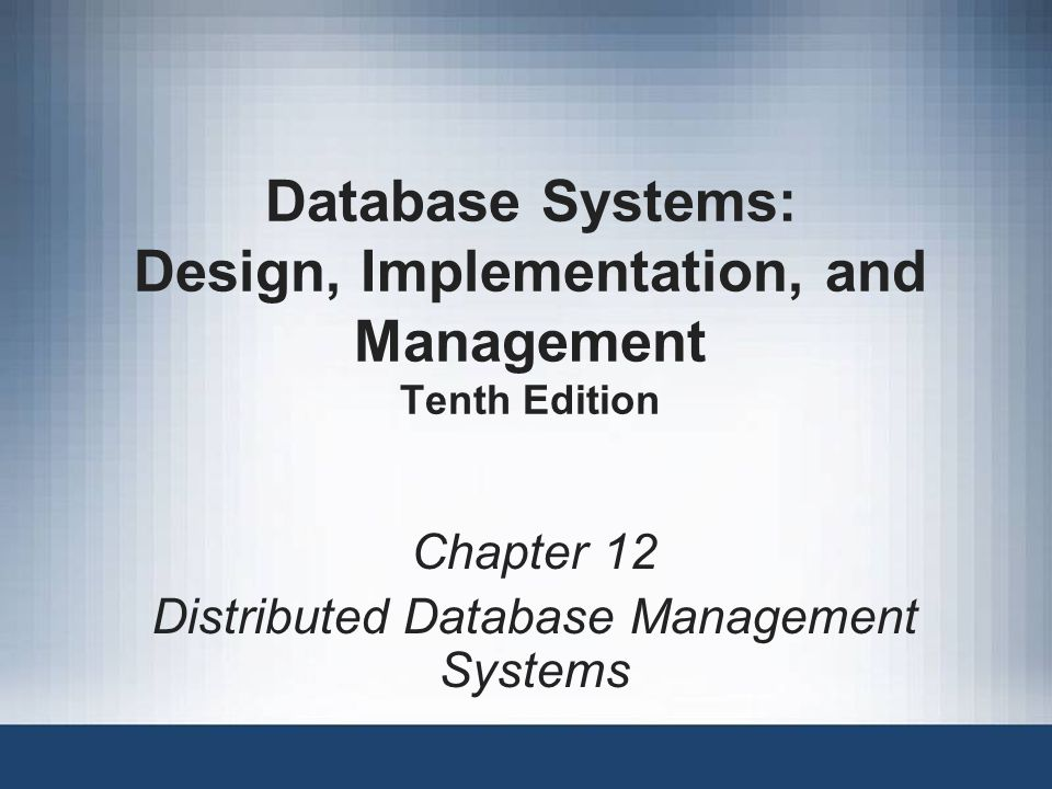Database Systems: Design, Implementation, and Management Tenth ...