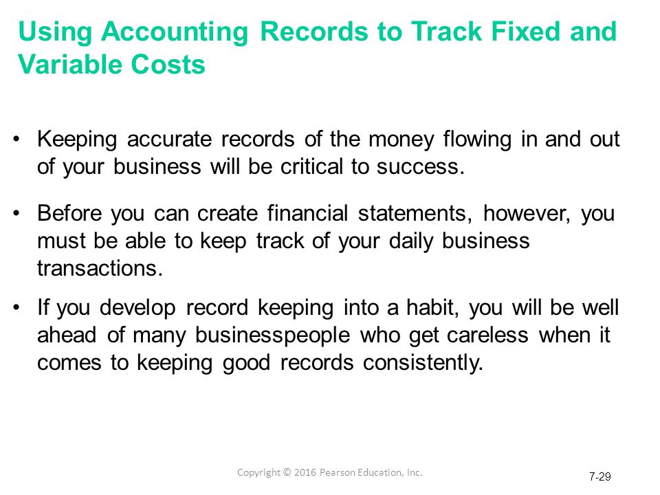 accounting record keeping Keeping records records are all your accounting and other financial information  documents these documents must be kept organized.