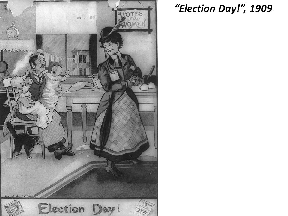 Election Day! , 1909