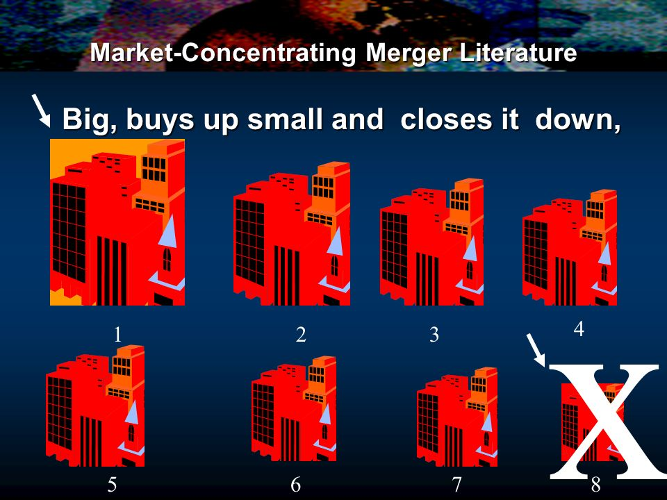 Market-Concentrating Merger Literature