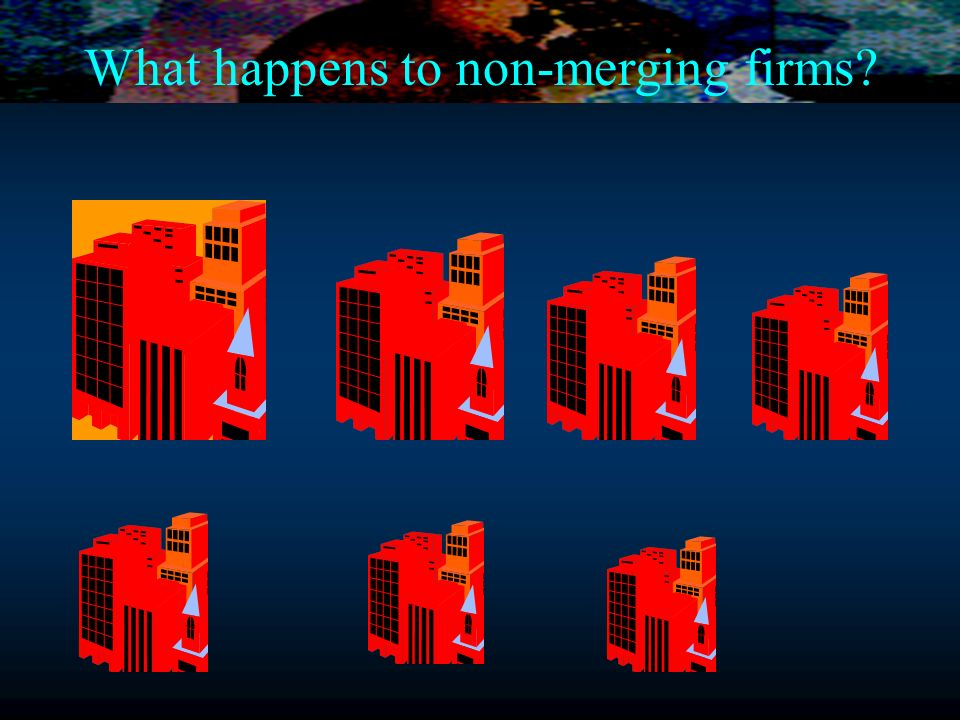What happens to non-merging firms