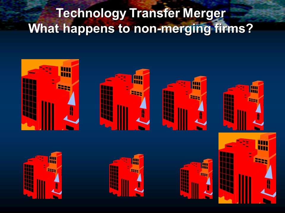 Technology Transfer Merger What happens to non-merging firms