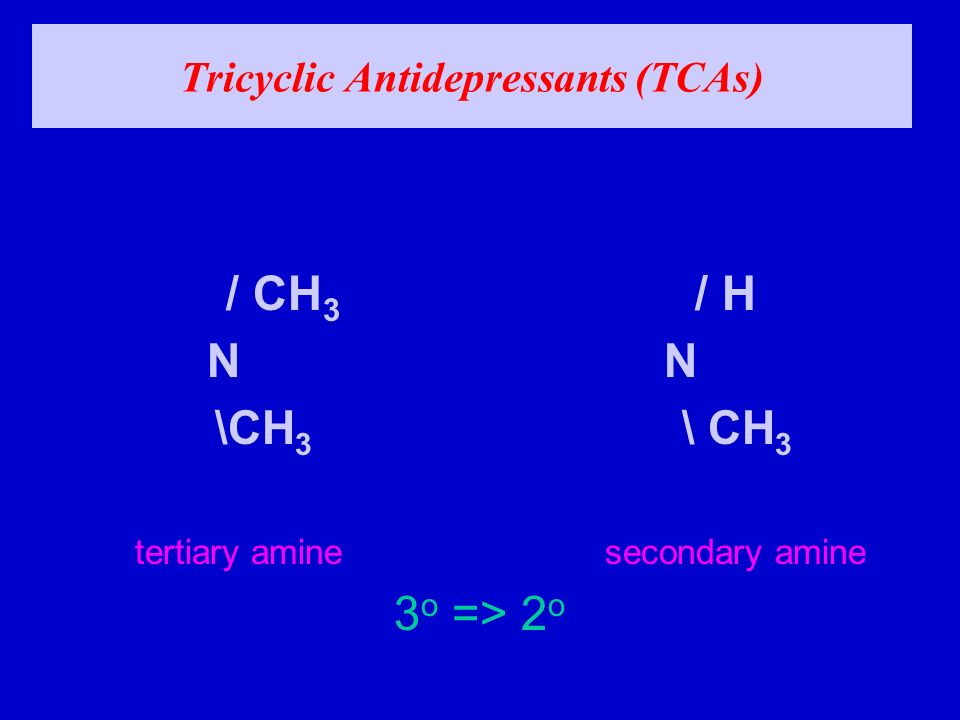 tricyclic antidepressants side effects pdf