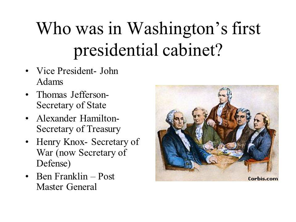 washington and adams presidencies Compare and contrast george washington/john adams both had troubles during their presidencies  • george washington and john adams are similar because they.